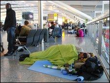 Heathrow Terminal 5 on 21 April 2010
