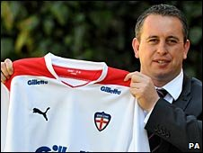 New England coach Steve McNamara