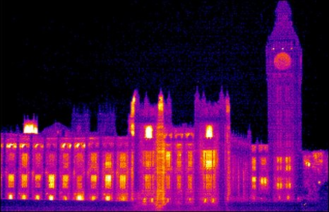 Thermogram of Houses of Parliament
