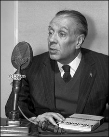 Jorge Luis Borges in an interview with the BBC Latin American Service in 1963