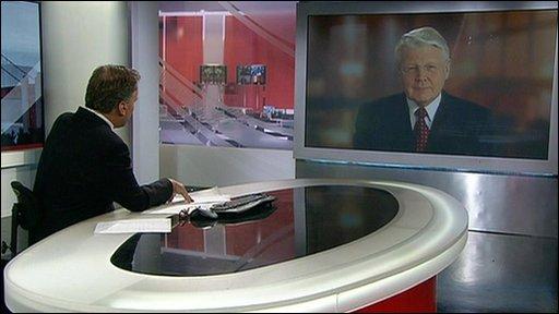 Matt Frei speaks to the president of Iceland