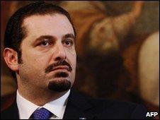 Lebanese President Saad Hariri