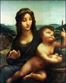 Madonna with YarnWinder