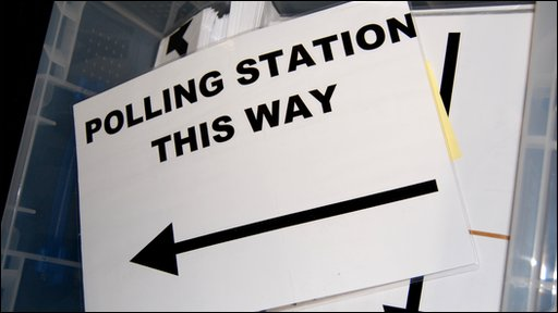 Polling Station this way