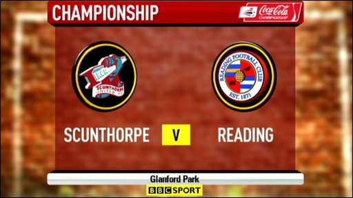 Scunthorpe 2-2 Reading