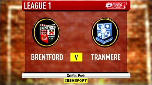 Brentford 2-1 Tranmere
