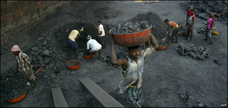 Indian coal miners
