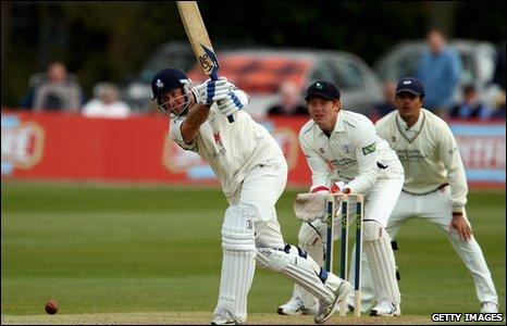 Kent batsman Darren Stevens