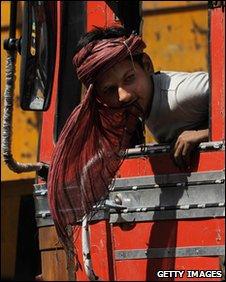 Truck driver near Bangalore