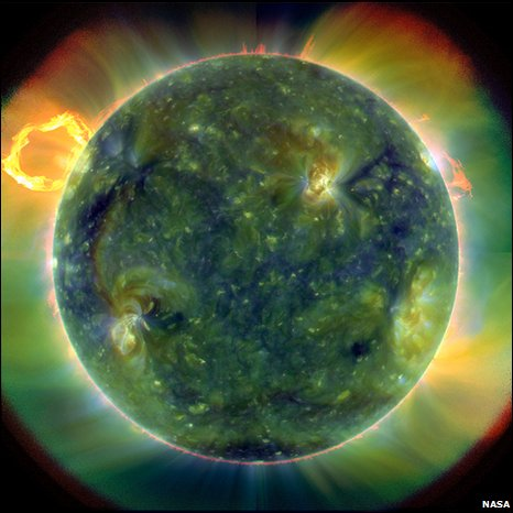 Whole Sun view from SDO (Nasa)