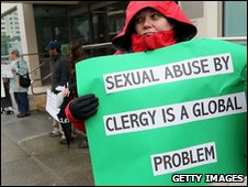 Protest by Survivors Network of those Abused by Priests in San Francisco (29 March 2010)