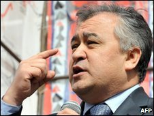 File image of Omurbek Tekebayev, from March 2010