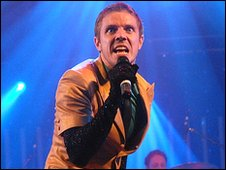 Jake Shears, of the Scissor Sisters