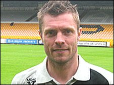 Port Vale assistant manager Geoff Horsfield