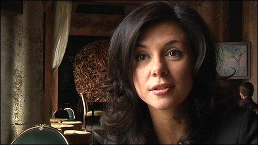 Natalya Gornaeva, a Moscow restaurant co-owner