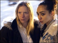 Paula Clennell (Nathalie Press) and Rochelle (Ruth Negga)