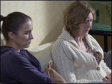 Stacey Nicholls (Vicky McClure) and Rosemary Nicholls (Sarah Lancashire)