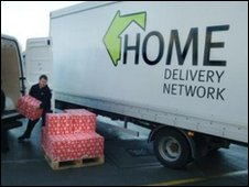 A Home Delivery Network Ltd truck