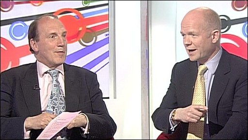 Simon Hughes and William Hague