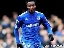 Nigeria and Chelsea's John Mikel Obi