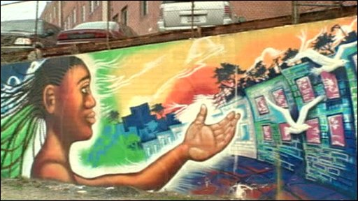 Street murals in Washington, DC