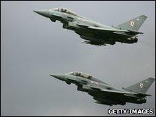 Typhoons taking off