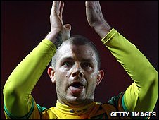 Norwich City's Jamie Cureton