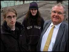 Lord Digby Jones with Tim Cruise and Ben Gillett