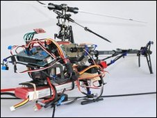 RESCUE computer-controlled helicopter