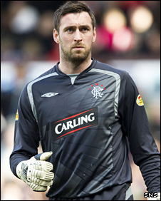 Ranges goalkeeper Allan McGregor