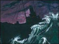 Ellan Vannin painting