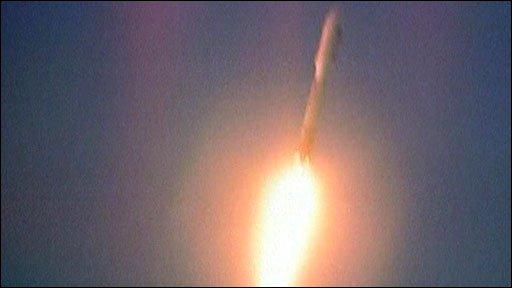 X-37B blasts off
