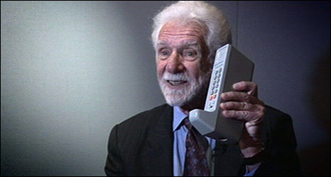 Martin Cooper, inventor of the mobile phone