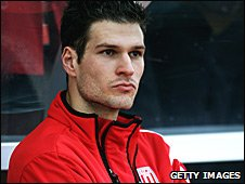 Stoke City goalkeeper Asmir Begovic
