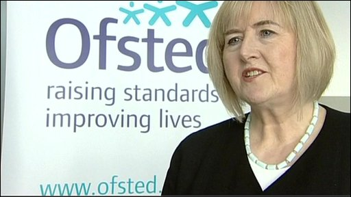 Head of Ofsted, Christine Gilbert