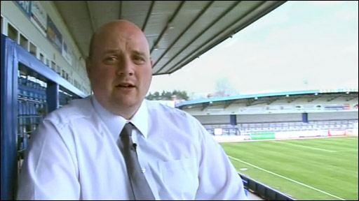 AFC Telford United chairman Lee Carter