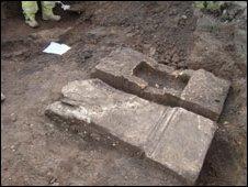The roman alter stones