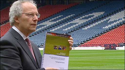 Author of the Scottish Football Review Henry McLeish