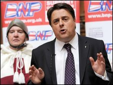 Ian Kitchen and Nick Griffin