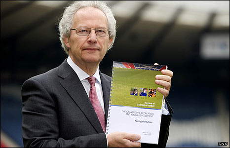 Henry McLeish has published his  recommendations for the future of Scottish football