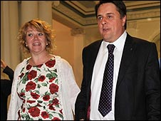Jackie and Nick Griffin