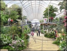 Wisley Glasshouse (picture by Colvin And Moggridge)