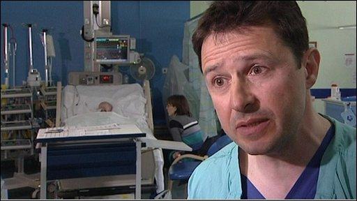 Cardiac surgeon David Barron