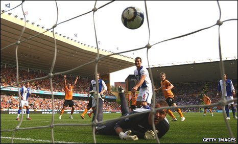 Sylvan Ebanks-Blake scores for Wolves
