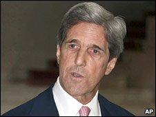 Senator John Kerry. Photo: April 2010