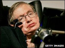 Mr Hawking says it is 'perfectly rational' to believe in aliens