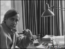Alan Sillitoe in 1973