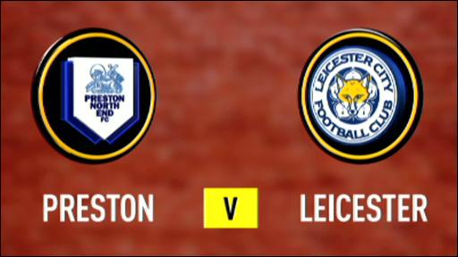 Preston 0-1 Leicester