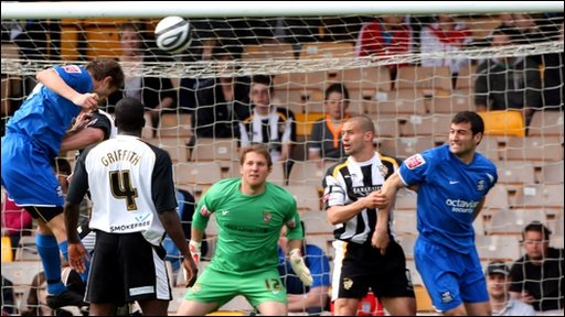 Port Vale v Notts County