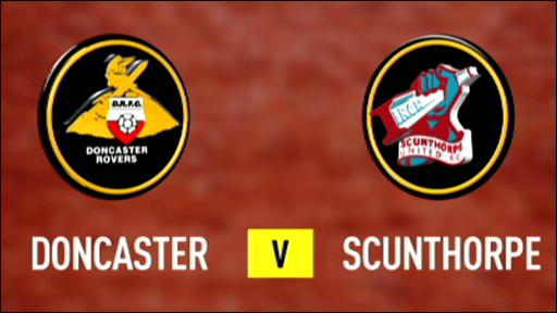 Doncaster 4-3 Scunthorpe